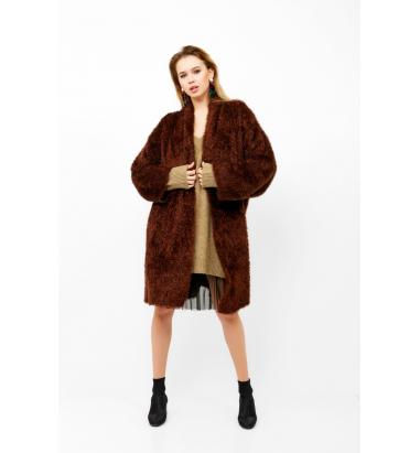 Oversize Peluş Ceket