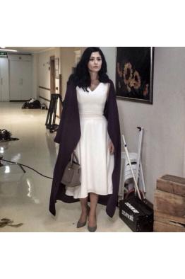 İpek Krep Maxi Elbise