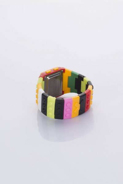 Your Ego My Lego Watch -Yellow&Red Your Ego My Lego Watch -Yellow&Red
