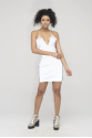 Cyber Doll Reflective Bodycon Dresses