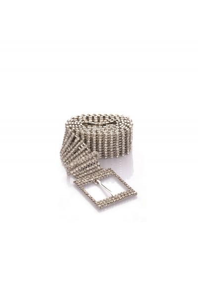 Diamond Misfit Rhinestone Belt Chain Diamond Misfit Rhinestone Belt Chain