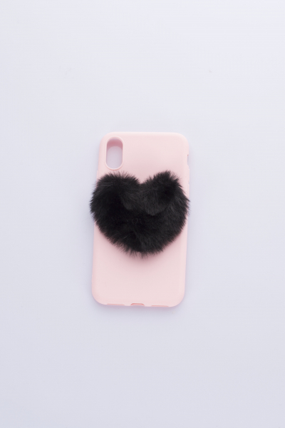Love Lust Furry Pink Phone Case Love Lust Furry Pink Phone Case
