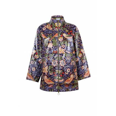 PATTERN DETAILED RAINCOAT
