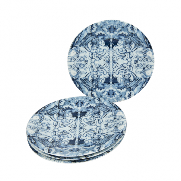 Bashaques x Cosalindo Degas Pattern Plate Set (4 Pieces) Bashaques x Cosalindo Degas Pattern Plate Set (4 Pieces)