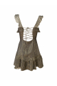 Black Silk Mini Dress
