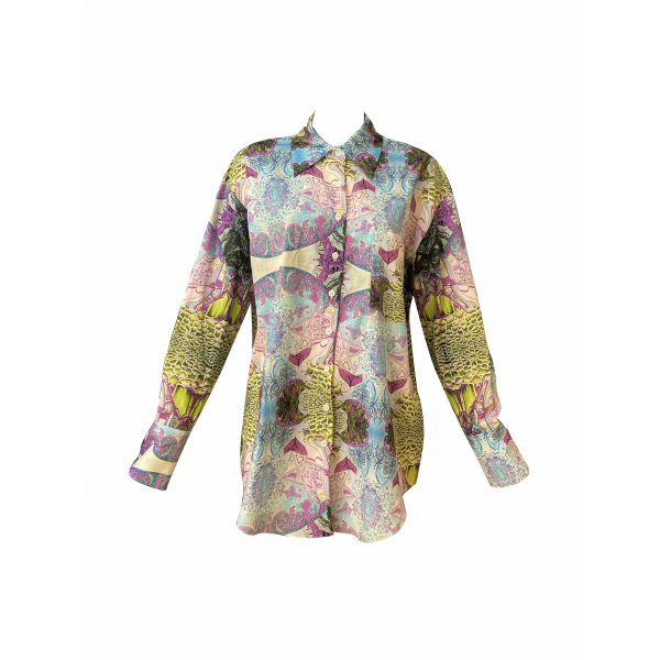 Hand Drawing Patterned Shirt