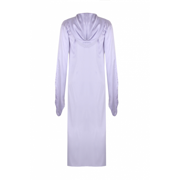 Lavender Colored Long Silk Tunic Lavender Colored Long Silk Tunic