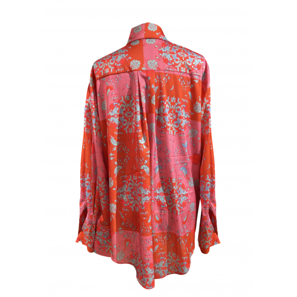 Flower Patterned Shirt