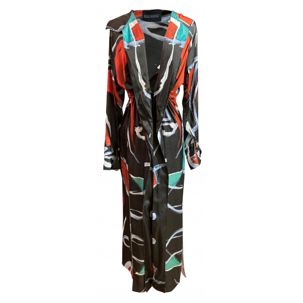 Lineal Patterned Kimono Lineal Patterned Kimono