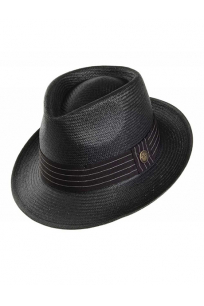 Black Hat GOORIN BROTHERS HAT SNARE BLACK