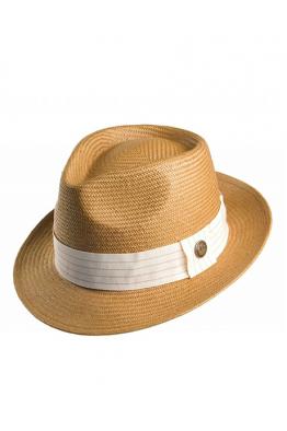 GOORIN BROS GOORIN BROS - Snare Straw Fedora Hat
