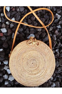 THE BALI FASHION THE BALI FASHION - Round Bag Ubud