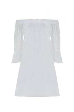 BRAEZ BRAEZ - Daphne Beyaz Elbise