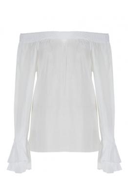 BRAEZ BRAEZ - Bianca Beyaz Bluz
