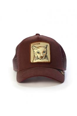Goorin Bros Cougar Maroon Şapka