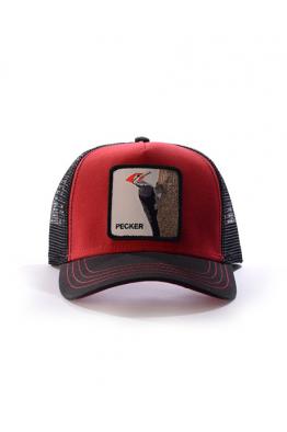 GOORIN BROS Woody Wood Red Şapka