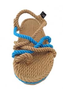 Toe Joe Camel-Neon Mavi Sandalet