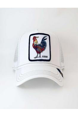 Goorin Bros Gallo Beyaz Şapka