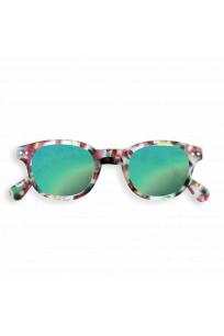 #C Sun Green Tortoise Mirror Güneş Gözlüğü
