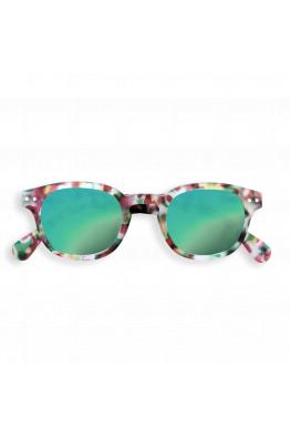 IZIPIZI #C Sun Green Tortoise Mirror Güneş Gözlüğü