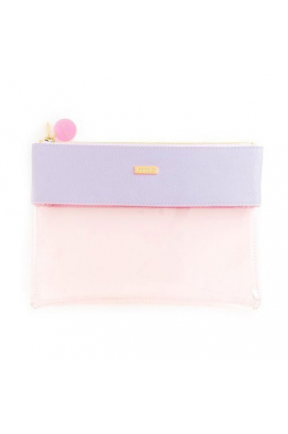 BAN.DO peekaboo clutch, lilac