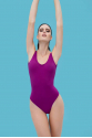 ANAIS MARGAUX -Margot Purple Swimsuit