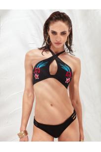 LESS IS MORE - Tahiti Bikini Üstü Black