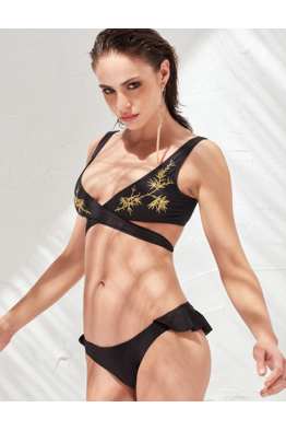 LESS IS MORE SWİMWEAR LESS IS MORE - Zoe Bikini Üstü Black