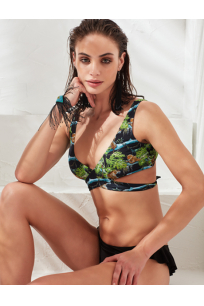 LESS IS MORE - Zoe Bikini Üstü Tiger