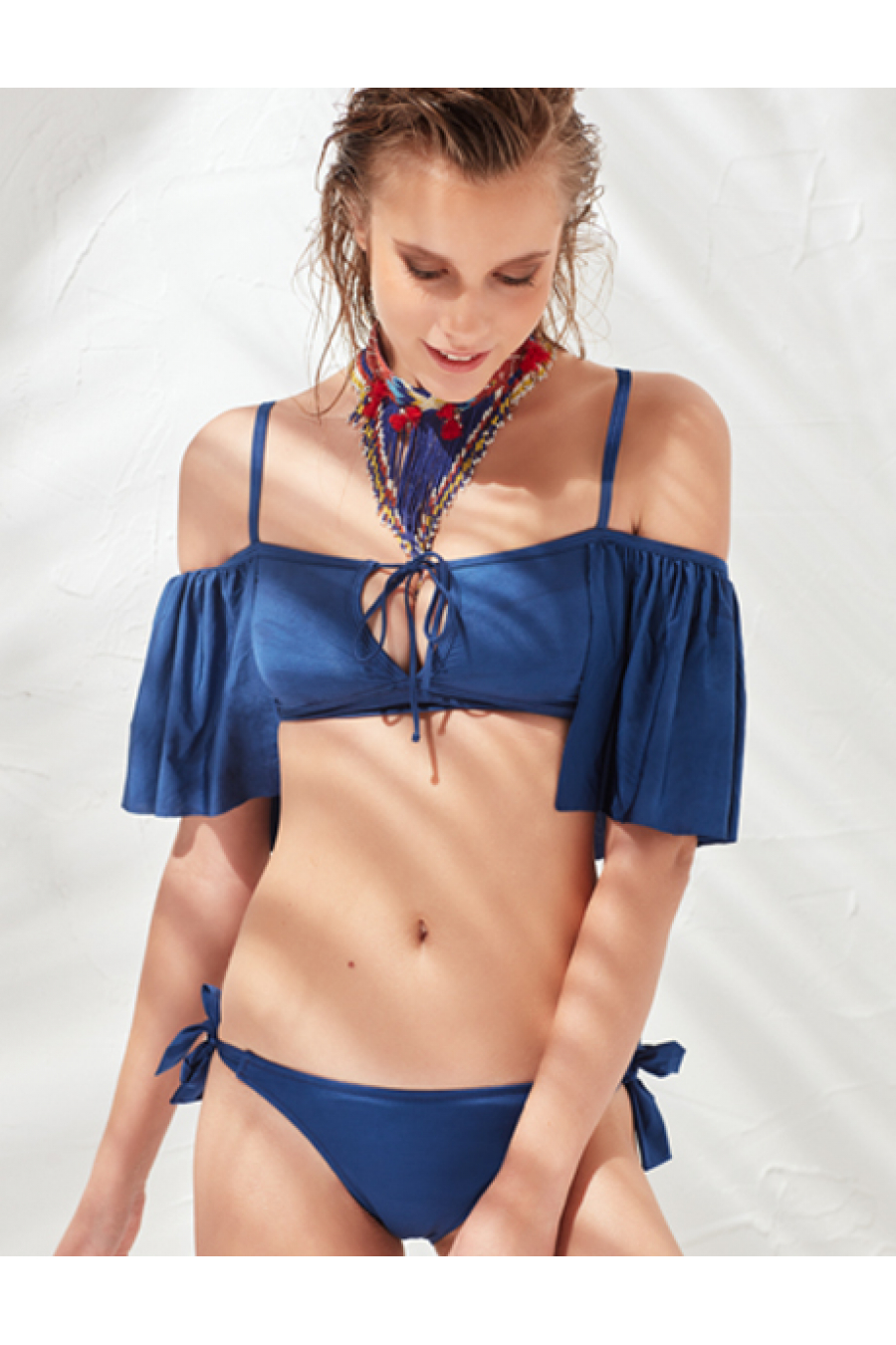 LESS IS MORE - Wind Bikini Üstü Navy