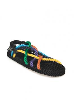 NOMADIC STATE OF MIND Nomadic State of Mind - JC Multicolor Hasır İp Sandalet