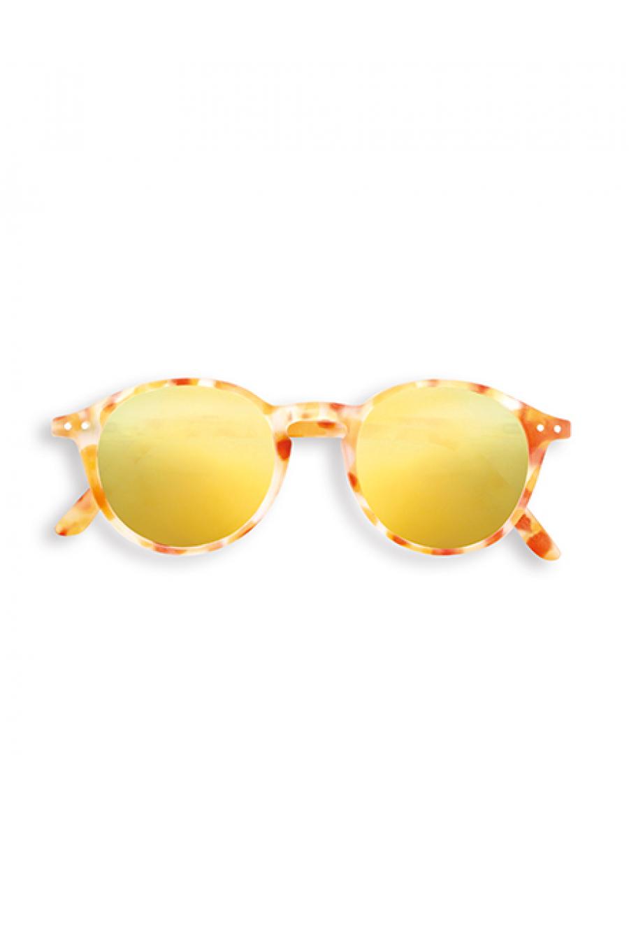 #C Sun  Yellow Tortoise Mirror Güneş Gözlüğü