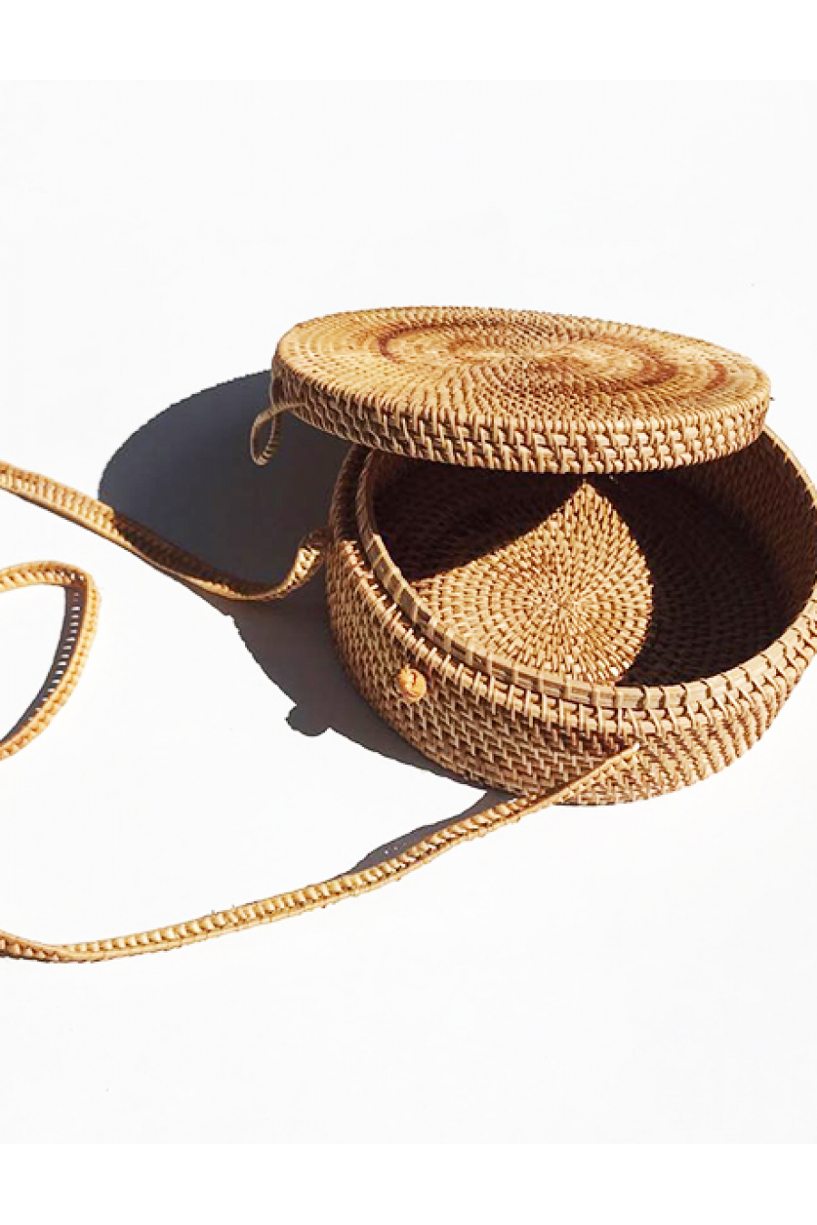 BAMBOO BAGS - Round Bag