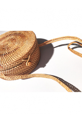 BAMBOO BAGS BAMBOO BAGS - Round Bag