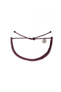 Pura Vida Bracelets Solid Burgundy Bileklik