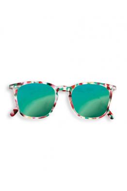 IZIPIZI #E Sun Green Tortoise Mirror Güneş Gözlüğü