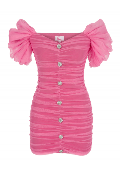 BELLİNİ Dress (Pink)
