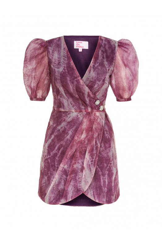 MARTİNİ Dress (Purple)