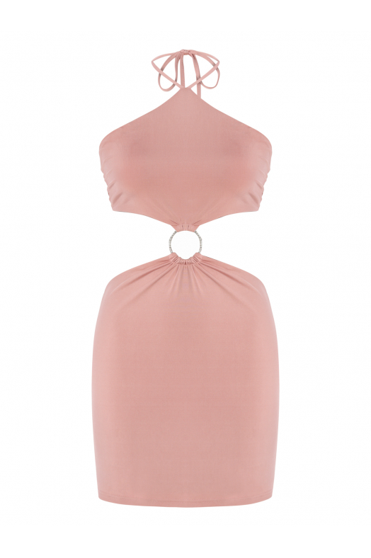SANGRİA Dress (Light Pink)