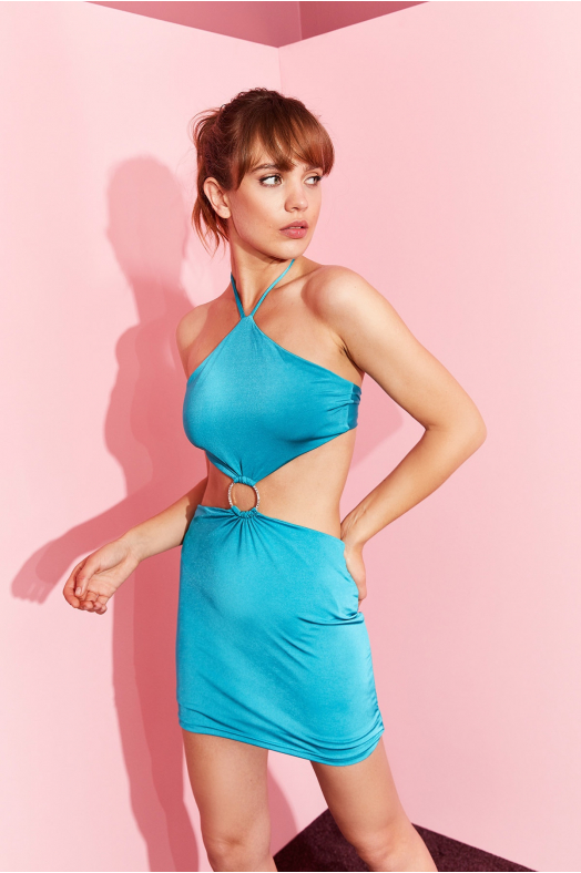 SANGRİA Dress (Blue)