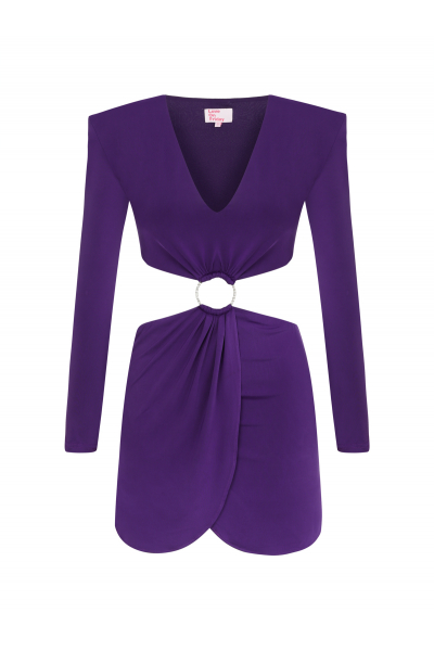 MOJİTO Dress (Purple)