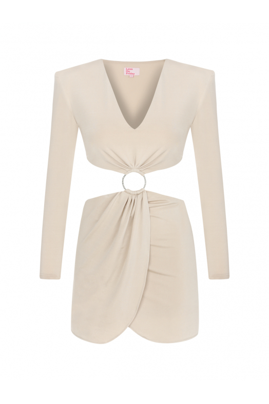 MOJİTO Dress (Light Beige)