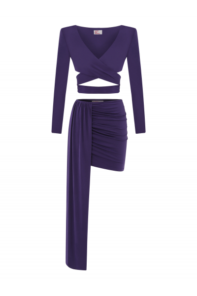 CRUSTA Two Piece Set (Violet)