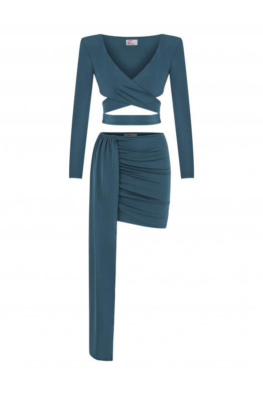 CRUSTA Two Piece Set (Turquoise)