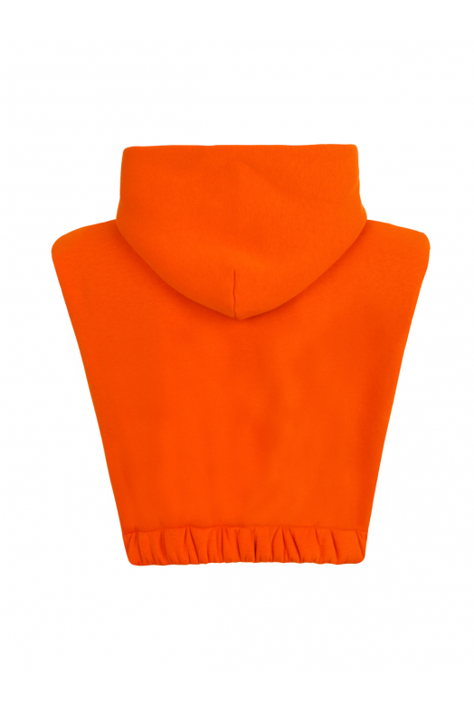 SKY Sleeveless Hoodie (Orange)