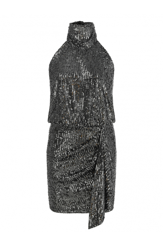 BROOKLYN Dress (Dark Silver Shimmer)