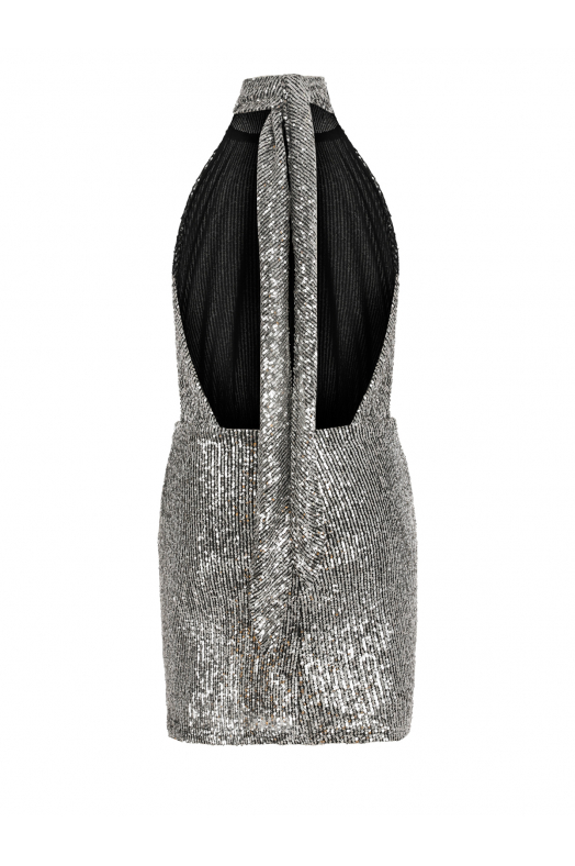 BROOKLYN Dress (Silver Shimmer)