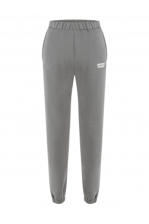 MOON High Waist Sweatpants (Grey)