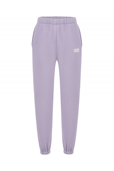 MOON High Waist Sweatpants (Lilac)