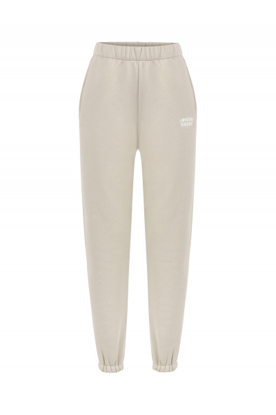 MOON High Waist Sweatpants (Light Sand)
